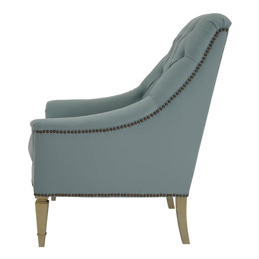 Kimberly Light Blue Accent Chair  alternate image, 3 of 6 images.