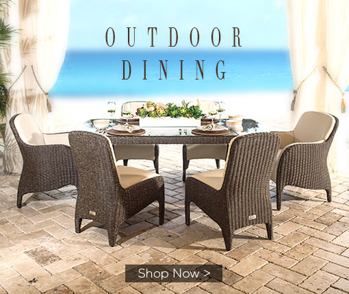 Outdoor Dining. Shop Now.