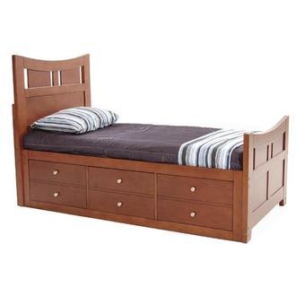 Village Craft Full Platform Bed El Dorado Furniture