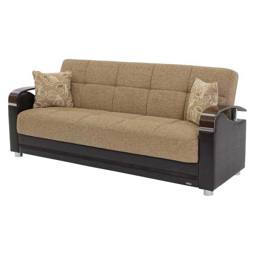 Awe Inspiring Peron Tan Futon Sofa Cjindustries Chair Design For Home Cjindustriesco