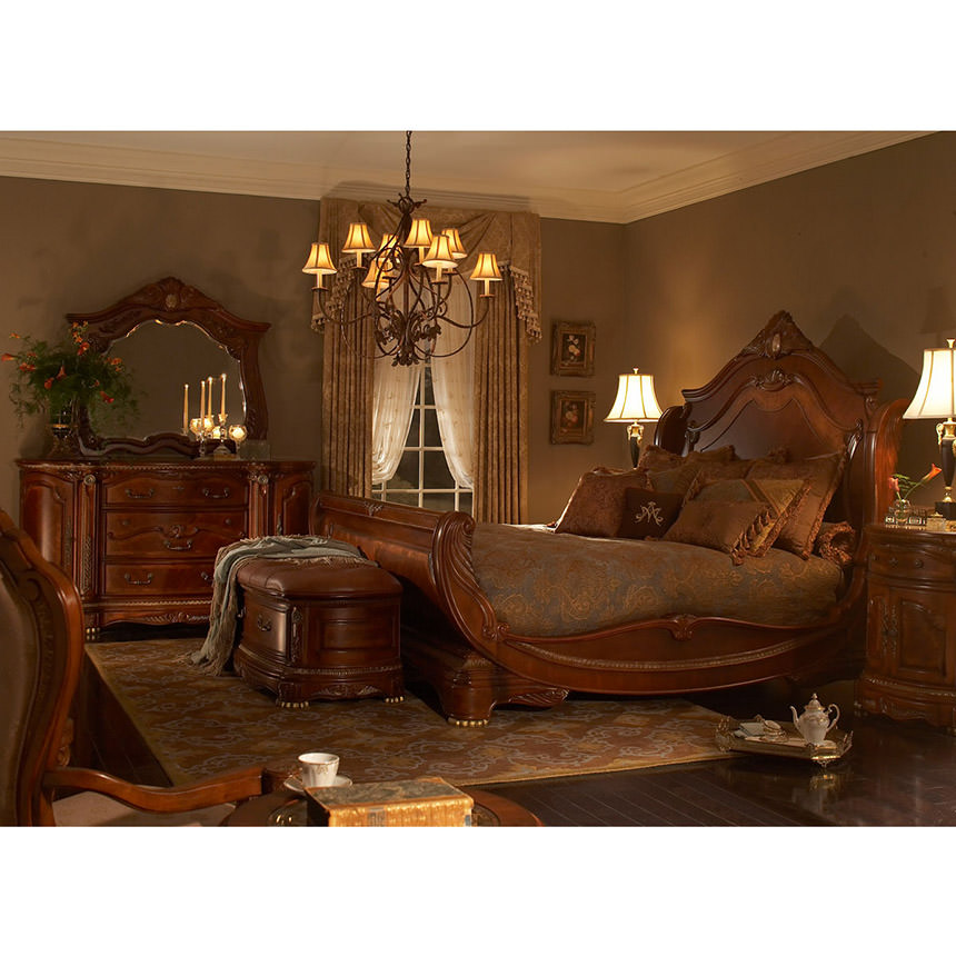el dorado furniture miami Cortina King Sleigh Bed | El Dorado Furniture el dorado furniture miami