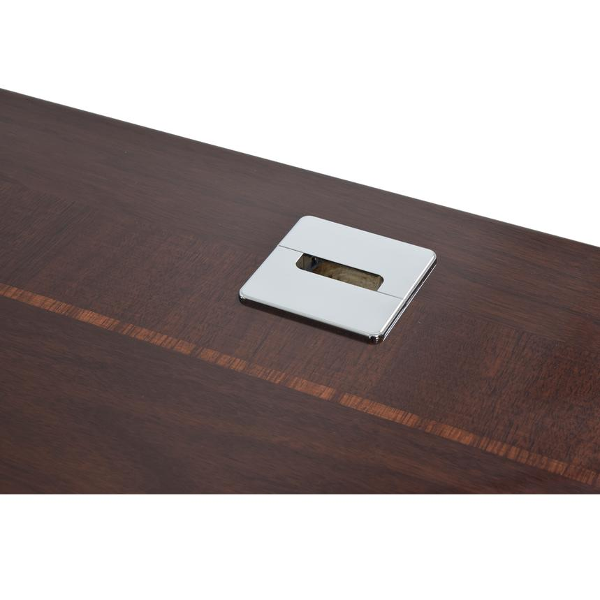 Pisa L-Shaped Desk w/Keyboard Tray Made in Italy  alternate image, 7 of 7 images.