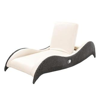 Luxor Brown Chaise Lounge