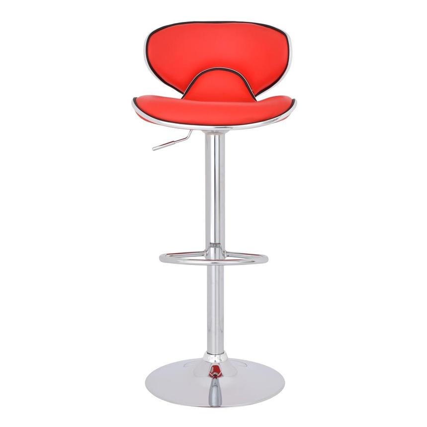 Clipper Red Adjustable Stool  alternate image, 3 of 7 images.