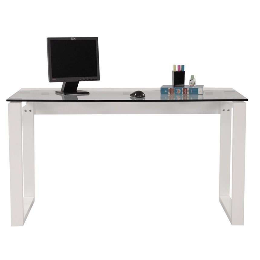 Bellmar White Desk  alternate image, 2 of 3 images.