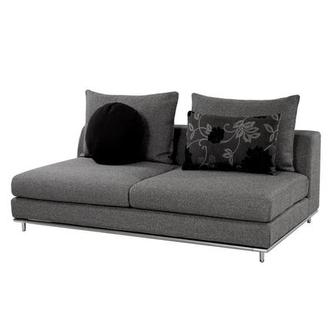 Henna Armless Loveseat