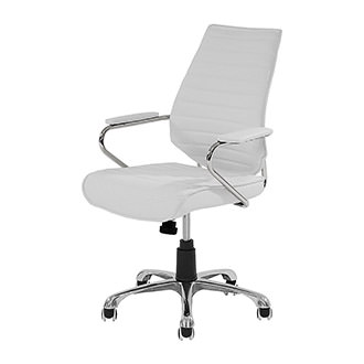 Enterprise White Desk Chair