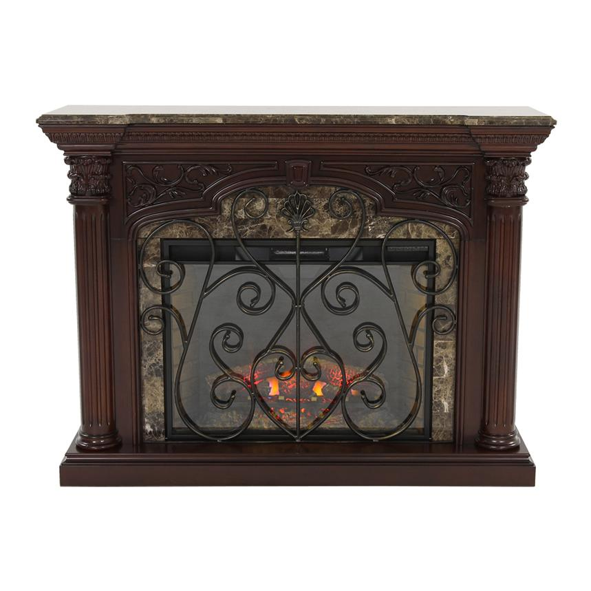 Astoria Faux Fireplace W Remote Control El Dorado Furniture