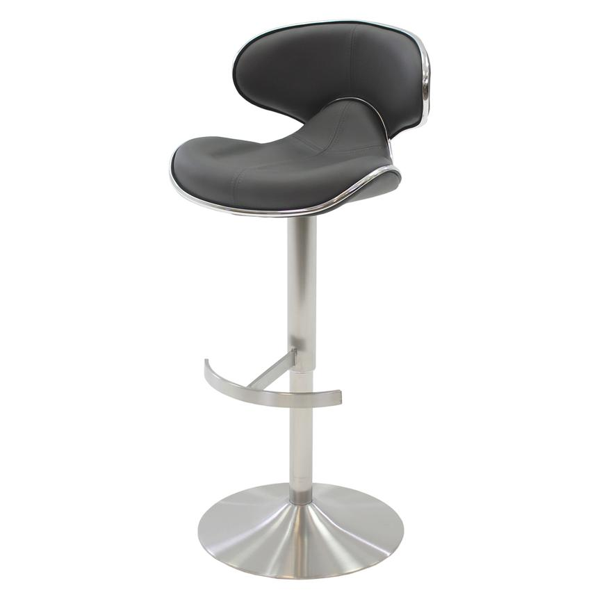 Strange Ecco Gray Adjustable Stool Pabps2019 Chair Design Images Pabps2019Com