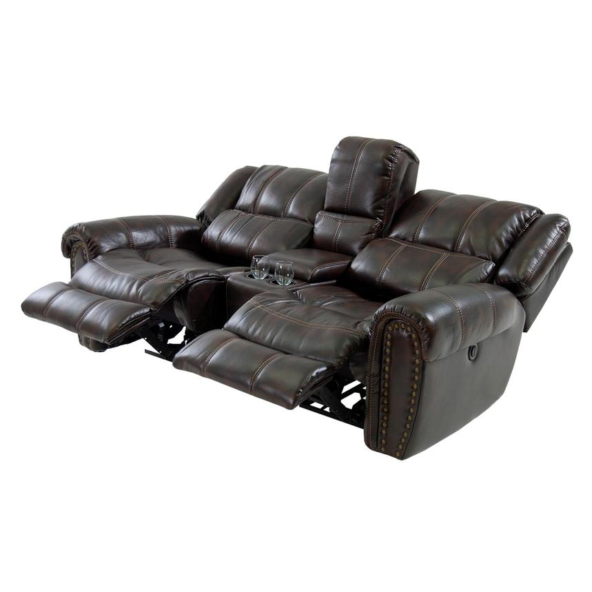 Paterson Power Motion Sofa w/Console  alternate image, 2 of 6 images.