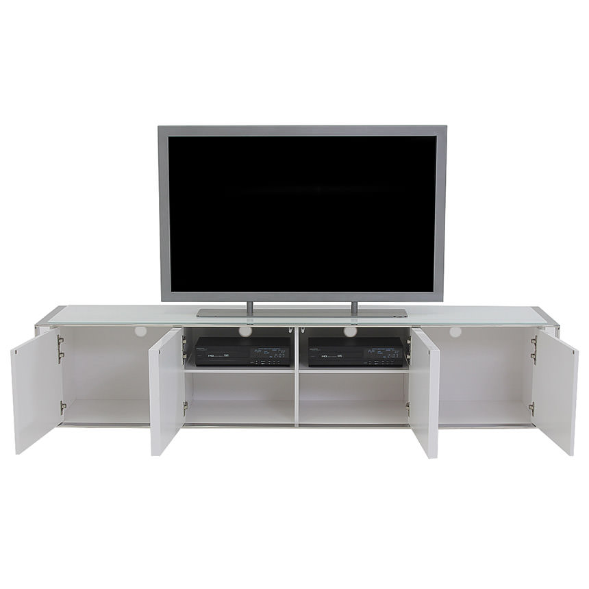 Cecilia White TV Stand  alternate image, 3 of 6 images.