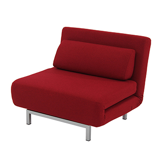Iso Red Chair Bed