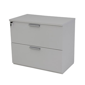 Sedona White Lateral File Cabinet