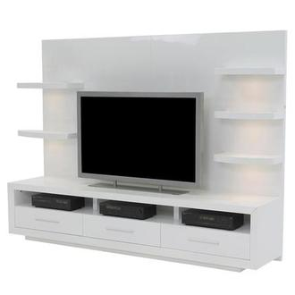 Contour White Wall Unit