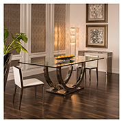 Ulysis Rectangular Dining Table  alternate image, 2 of 6 images.