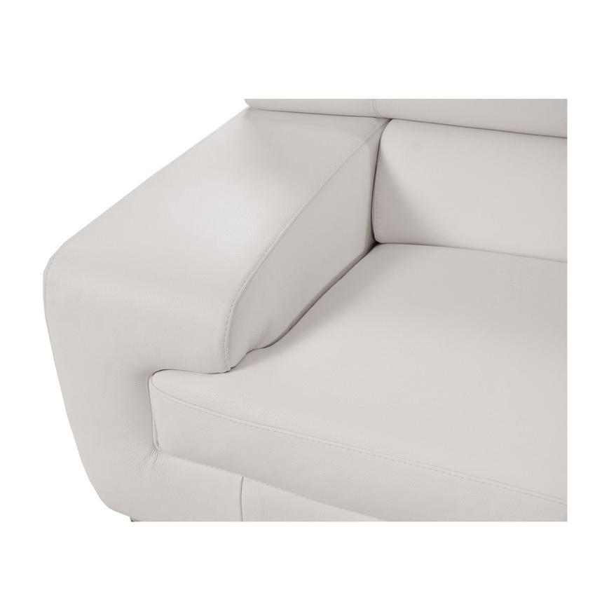 Strange Grace White Oversized Leather Sofa Inzonedesignstudio Interior Chair Design Inzonedesignstudiocom