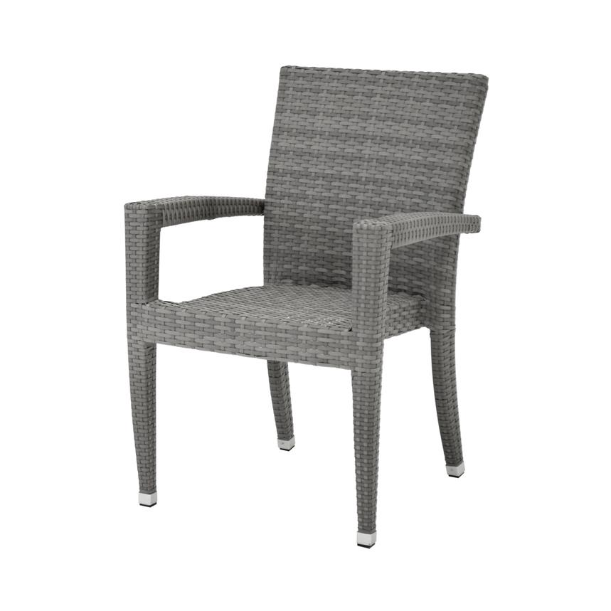 Neilina Gray Dining Chair  alternate image, 2 of 5 images.
