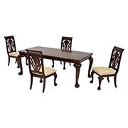 Eloisee 5 Piece Formal Dining Set El Dorado Furniture