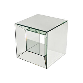 Oleta Mirrored Side Table
