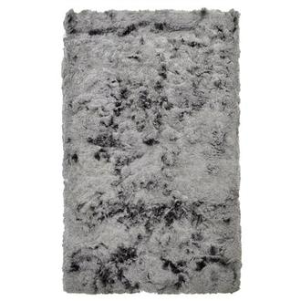 Silky Deluxe Gray 5' x 8' Area Rug