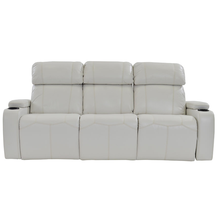Magnetron White Power Motion Sofa  alternate image, 2 of 9 images.