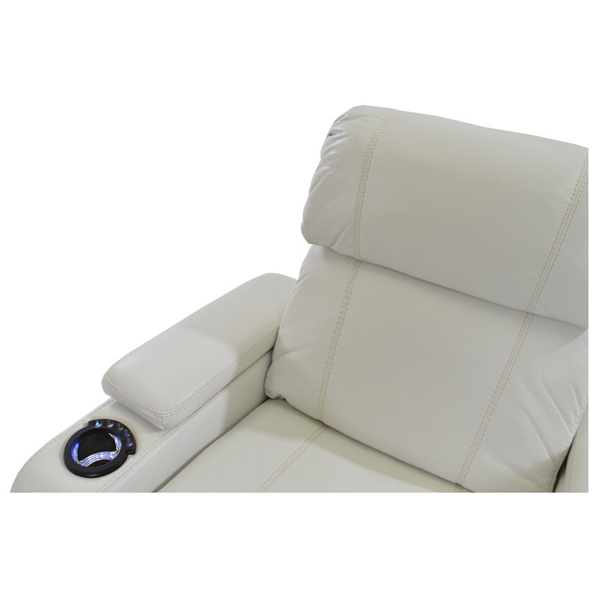 Magnetron White Power Motion Sofa  alternate image, 7 of 9 images.