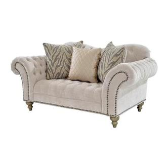 Laura Cream Loveseat