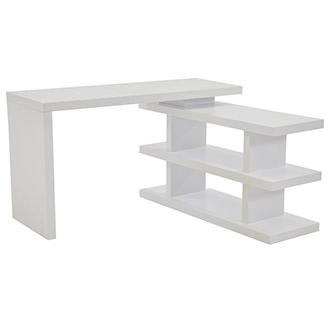 Jax White Console Table