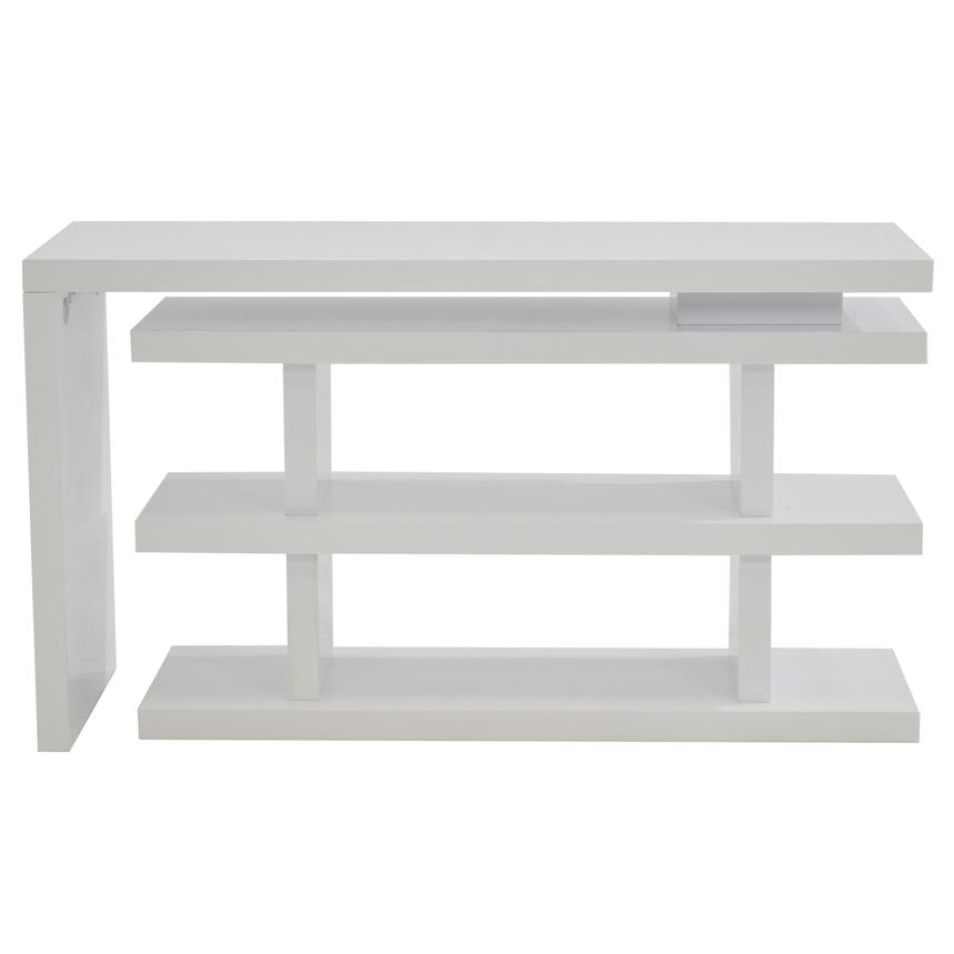 Jax White Console Table  alternate image, 3 of 5 images.