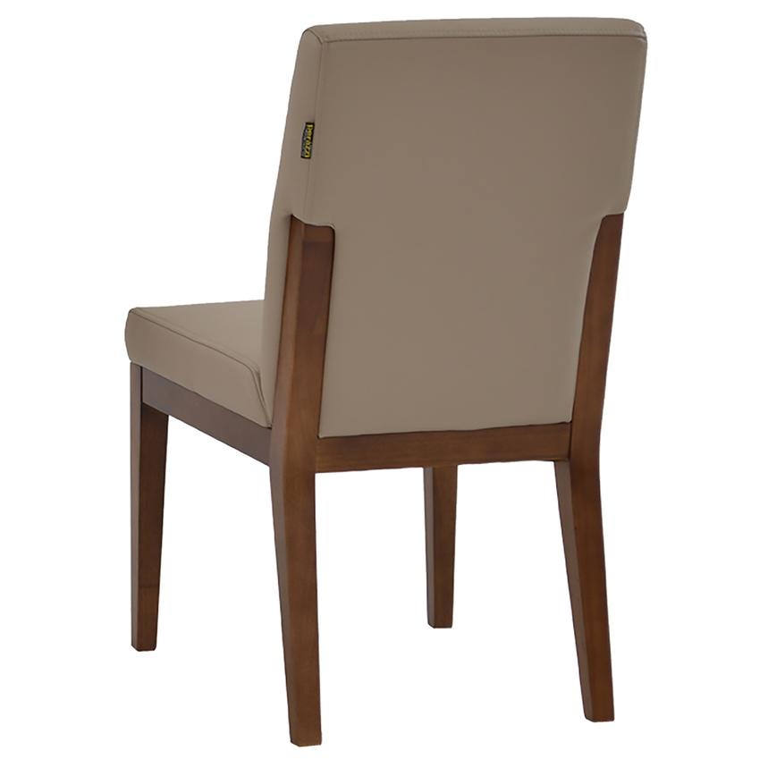 Suria Taupe Side Chair  alternate image, 3 of 6 images.