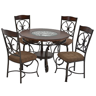 Glambrey 5-Piece Dining Set