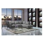 Cantrall Dark Gray Sofa w/Right Chaise  alternate image, 2 of 6 images.