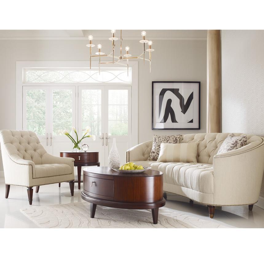 Kimberly Cream Accent Chair El Dorado Furniture