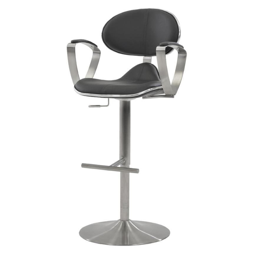 Jaylo Gray Adjustable Stool El Dorado Furniture