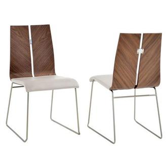 Valencia White Side Chair