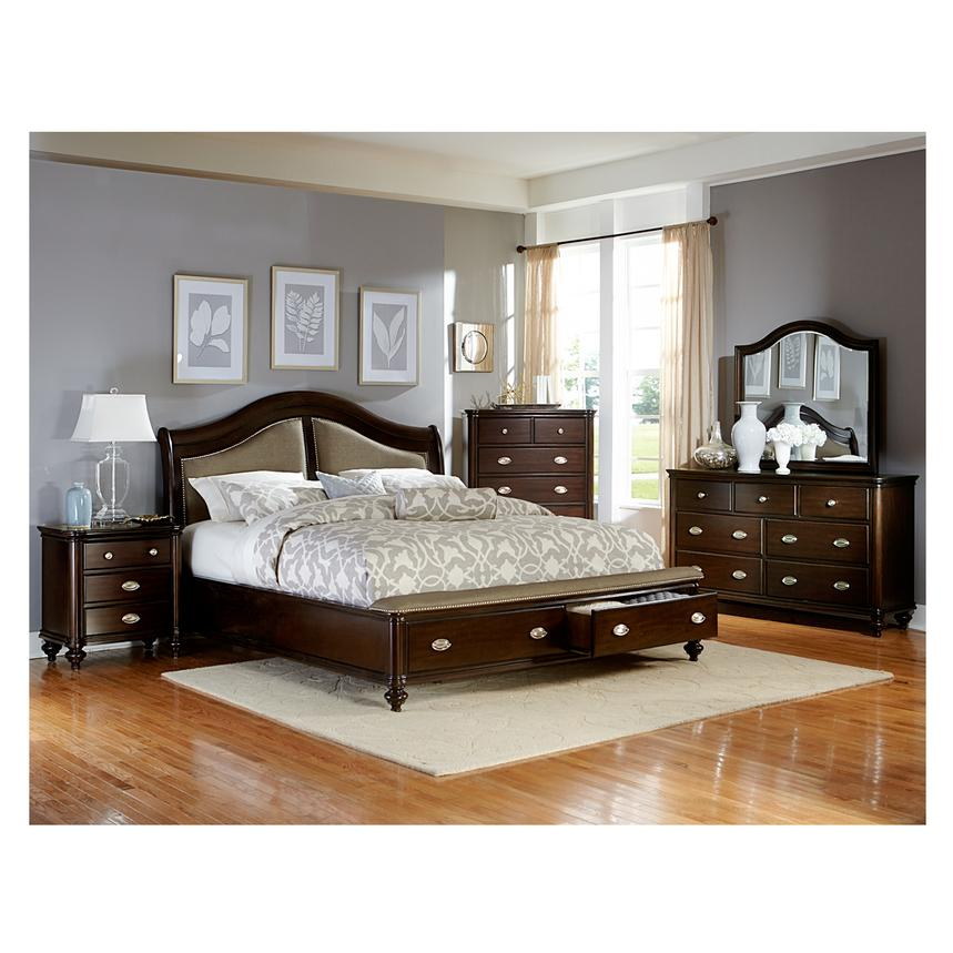 Seraphina King Storage Bed