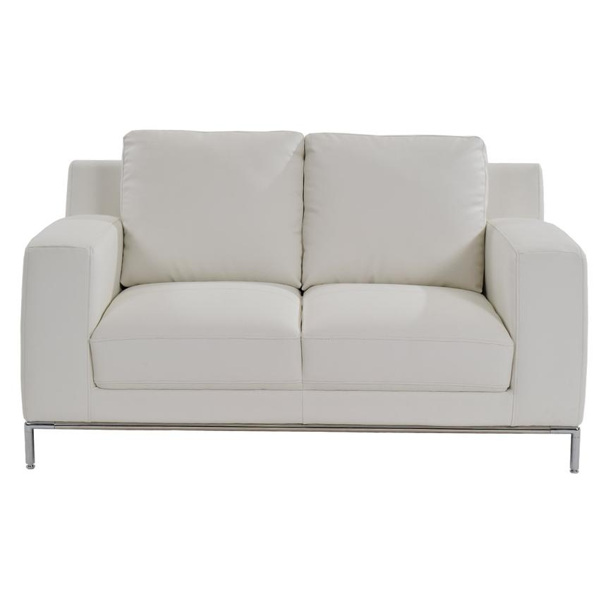 Cantrall White Loveseat