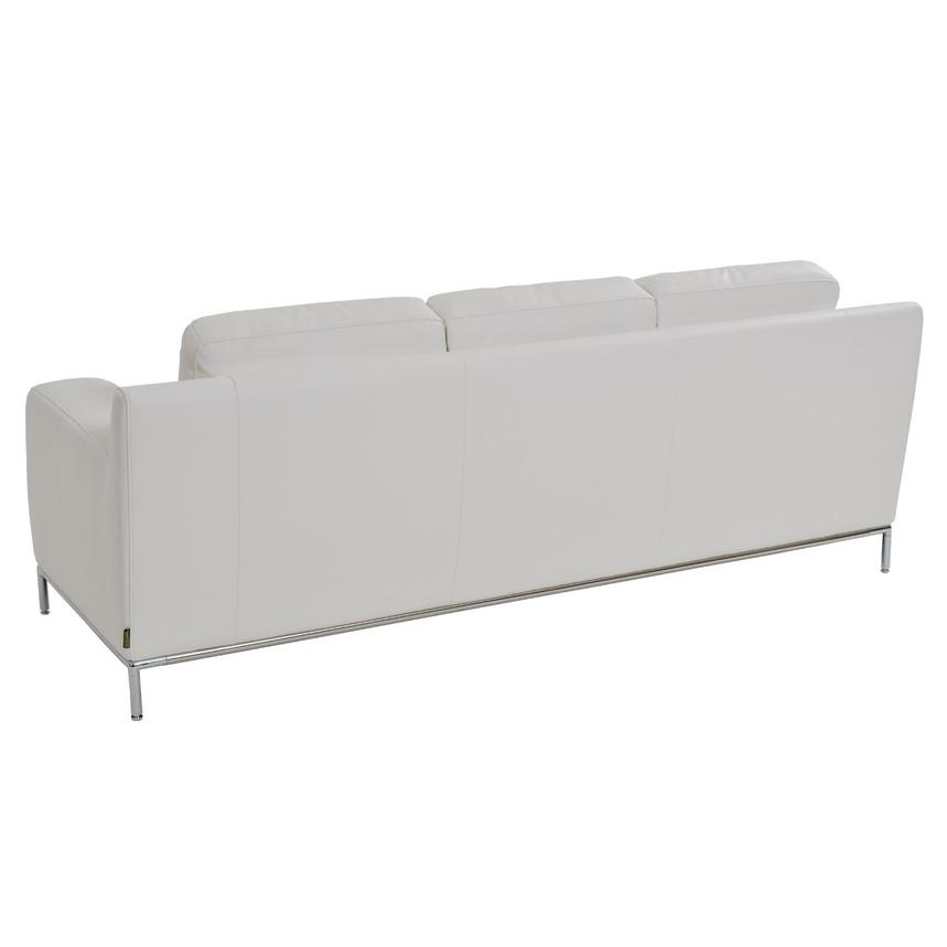 Cantrall White Sofa  alternate image, 3 of 6 images.