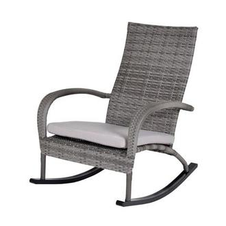 Neilina Gray Rocking Chair