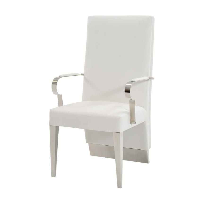 Ulysis White Arm Chair  alternate image, 2 of 6 images.