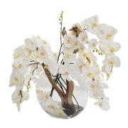 Moon White Flower Arrangement  main image, 1 of 4 images.