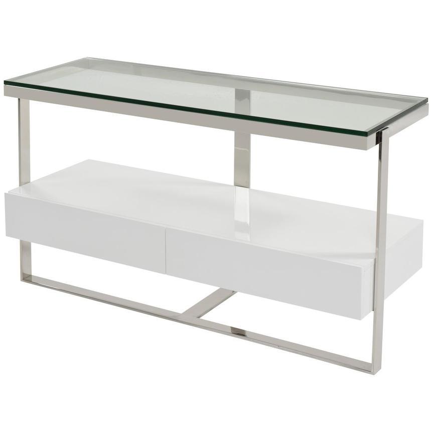 Calypso White Console Table  alternate image, 2 of 5 images.