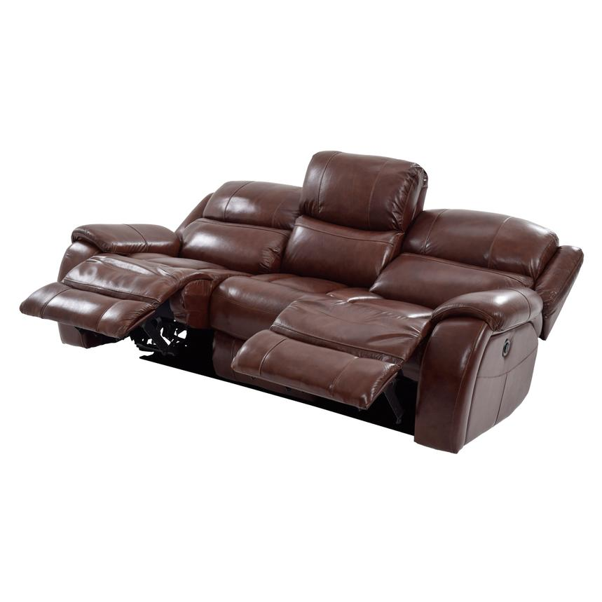 Abilene Power Motion Leather Sofa  alternate image, 3 of 7 images.