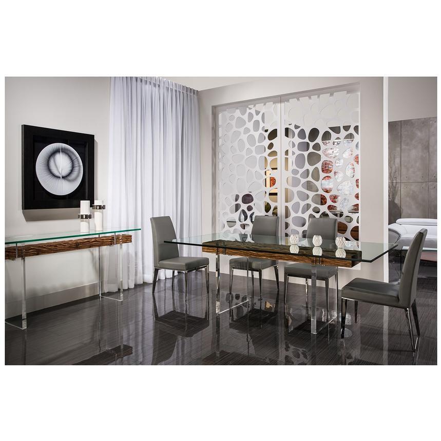 Selena Gray Side Chair | El Dorado Furniture