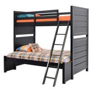 Graphite Twin Over Full Bunk Bed  main image, 1 of 7 images.