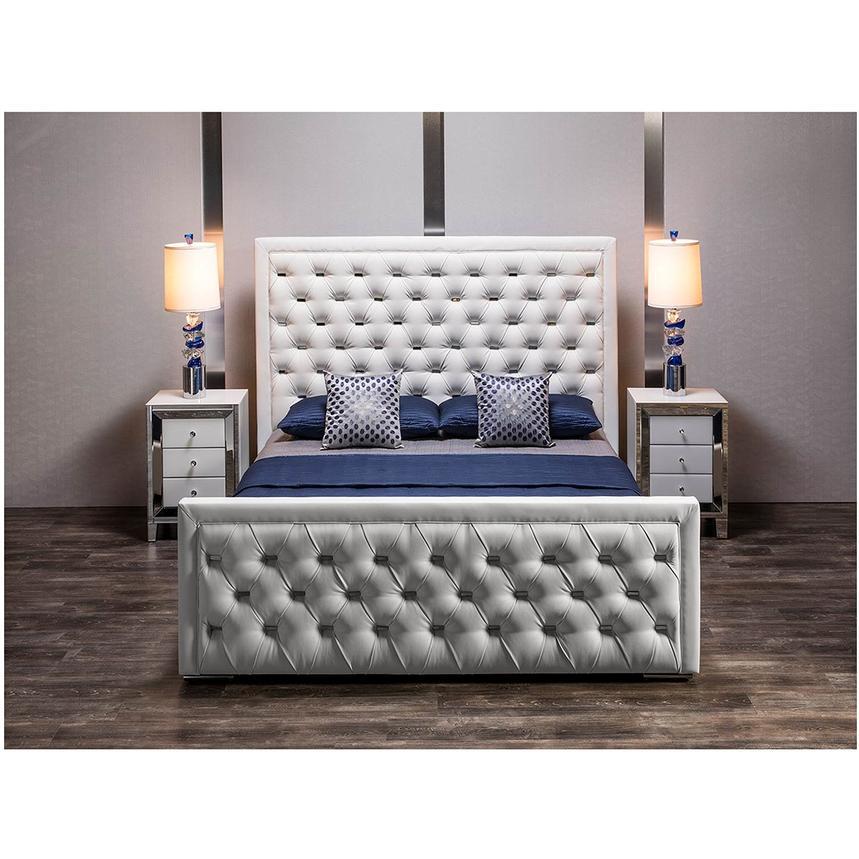Amia white mirrored cabinet el dorado furniture for Cabine el dorado