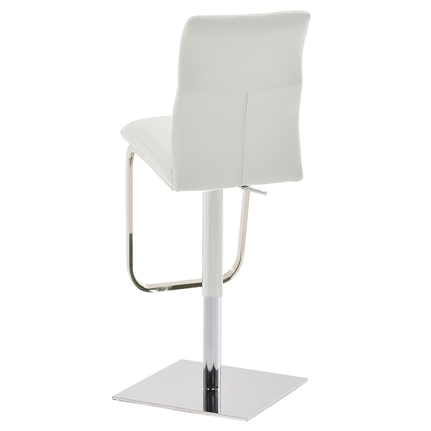 Colette White Adjustable Stool  alternate image, 2 of 5 images.