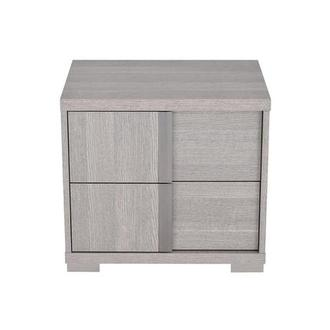 Tivo Gray Left Nightstand Made in Italy