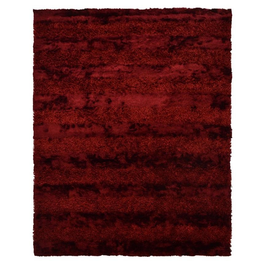 Fusion Red 8 X 11 Area Rug Main Image 1 Of 6 Images