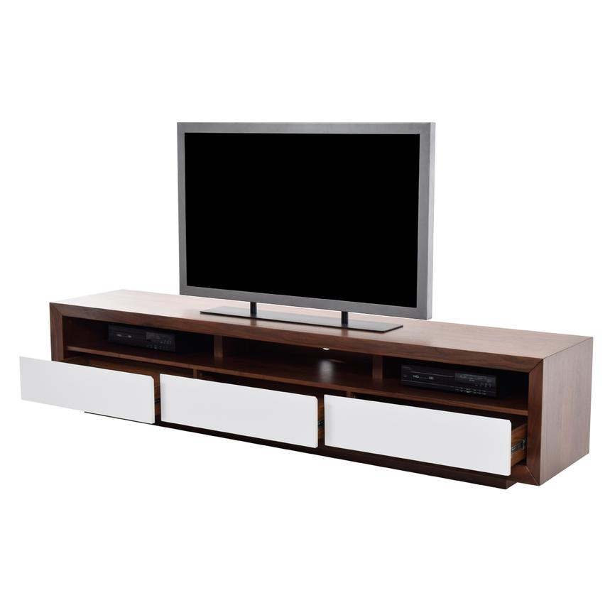 Contour II Walnut TV Stand  alternate image, 3 of 4 images.